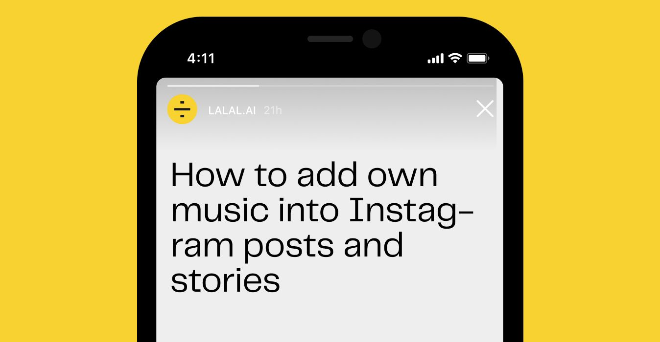 How to Add Own Music to Instagram Posts and Stories